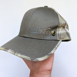Quicksilver Plaid Hat with Pins